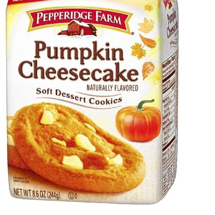 Pepperidge Farm's new Soft Dessert cookies in Pumpkin Cheesecake flavor.