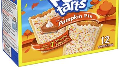 Pumpkin Pie Pop-Tarts.