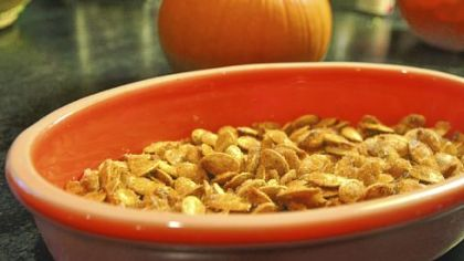 Spicy Pumpkin Seeds.