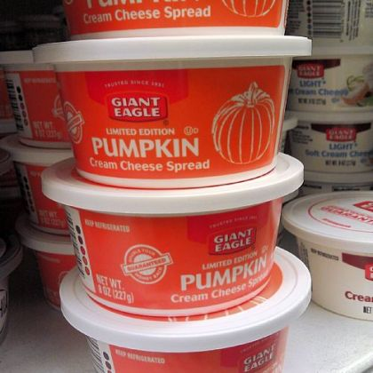 Giant Eagle Pumpkin Cream Cheese.