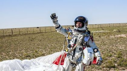 Mr. Baumgartner?s pressurized suit could help influence future spacesuit design.