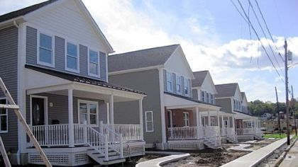 Sixth Street in Jeannette is being revitalized with new homes for low-income, first-time buyers.