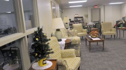 A common room at Etna Commons.