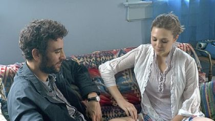 "Josh Radnor and Elizabeth Olsen connect in ""Liberal Arts."""