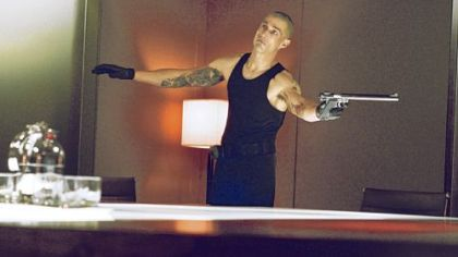 "Matthew Fox portrays a psychopath in ""Alex Cross."""