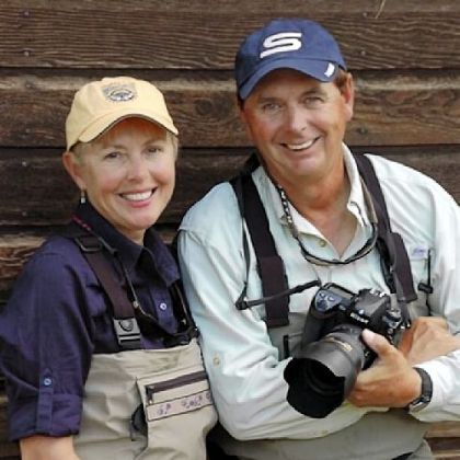 Cathy and Barry Beck&#039;s travels once prompted Outdoor Life magazine to dub them &quot;the first couple of fly-fishing.&quot; The two are on the road 45 weeks of the year.
