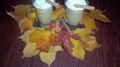Pumpkin Lattes made in a slow cooker.