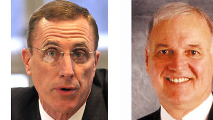 Tim Murphy, left, and Larry Maggi.
