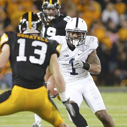 Bill Belton finished with a career-high 103 yards on 16 carries Saturday against Iowa.