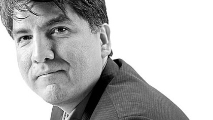 "Sherman Alexie, author of ""Blasphemy"" (2012)."