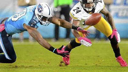 After a poor showing against the Titans, Ike Taylor stepped up and shut down Bengals receiver A.J. Green Sunday in Cincinnati. Green was held to one reception for 8 yards and a touchdown.