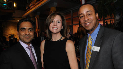 Anuj and Anne Nemer-Dhanda and Evan Frazier