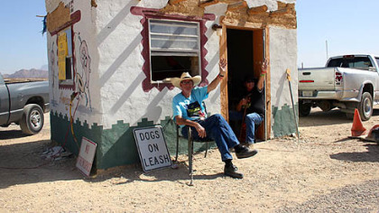 Texans welcome visitors to the Original Terlingua International Chili Cook-Off.