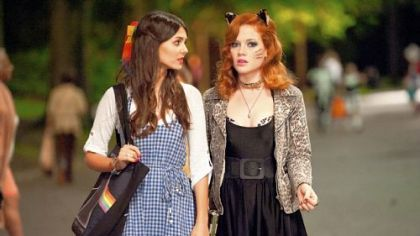 Victoria Justice and Jane Levy in 'Fun Size.'