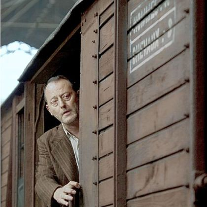 "David Sheinbaum, portrayed by Jean Reno, is among those boarded onto trains to internment camps by the French authorities in ""La Rafle."""