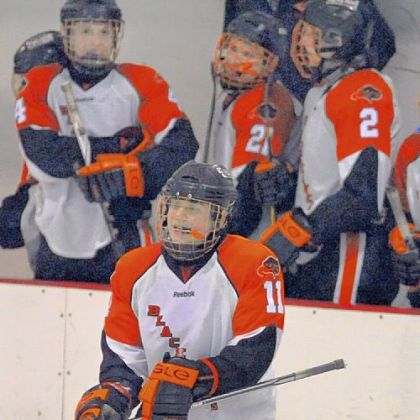 Bethel Park's Derek Lesnak is the Black Hawk's returning leading scorer (36 points last season) and scored the winning goal in Bethel Park's 2-1 triple-overtime win against North Allegheny in the Penguins Cup quarterfinals.