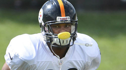 Steelers running back Isaac Redman.