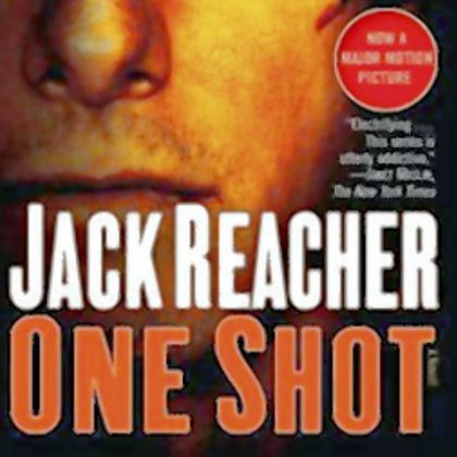 "Lee Child's book ""One Shot"" is being reissued with a new cover featuring Tom Cruise."
