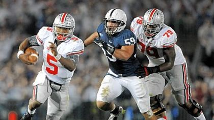 Pete Massaro and Penn State spent a lot of time chasing Ohio State's Braxton Miller around Beaver Stadium Saturday.
