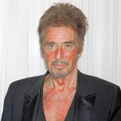 Al Pacino at a media event to promote the upcoming Broadway production of &quot;Glengarry Glen Ross,&quot; at Studio Ten in New York.