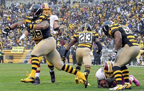 Steelers take control early, beat Redskins, 27-12