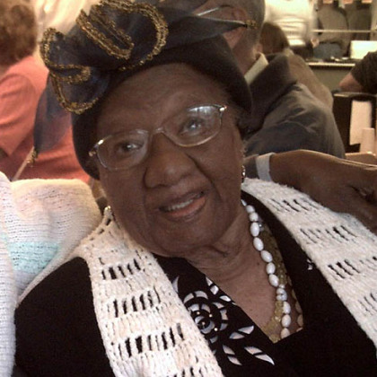 Anna Mae Towns celebrated her 100th birthday on Sept. 29, 2012.
