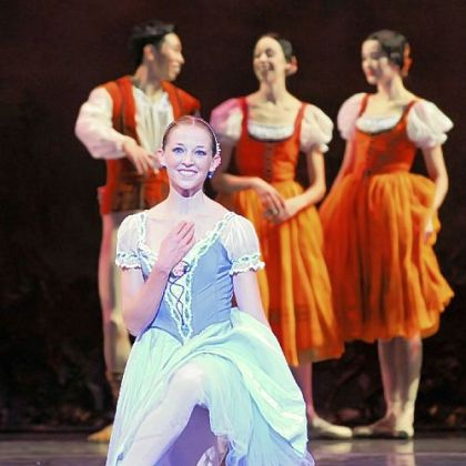 "Alexandra Kochis performs in Pittsburgh Ballet Theatre's production of ""Giselle."""