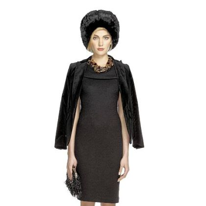Women's wear from the Banana Republic 'Anna Karenina' capsule collection by costume designer Jacqueline Durran.