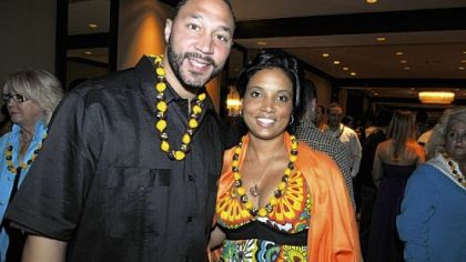 Charlie Batch and Latasha Wilson-Batch.