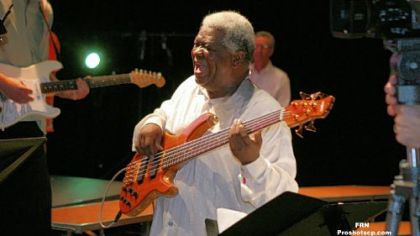 Abraham Laboriel -- Returns again for Jazz Seminar.