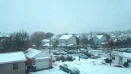 Snow in Somerset, Pa.