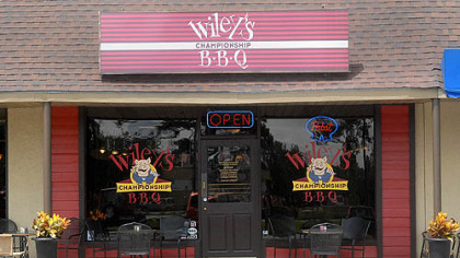 Wiley&#039;s Championship BBQ on Tybee, Island, GA.