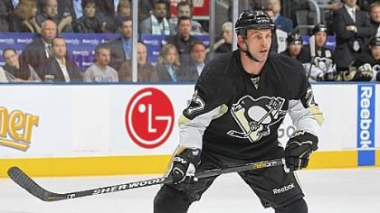 Forward Craig Adams of the Penguins.