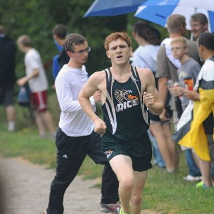 Allderdice senior Ean DiSilvio placed third at the WPIAL championship race.