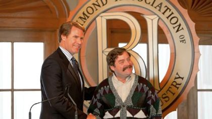 "Will Ferrell and Zach Galifianakis are political opponents in ""The Campaign."""