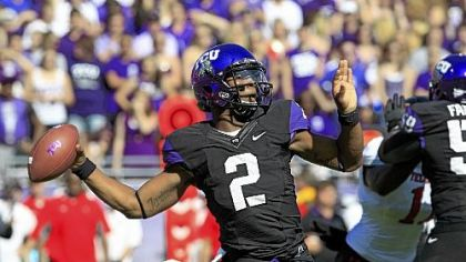 TCU's Trevone Boykin has five touchdowns and three interceptions this season.