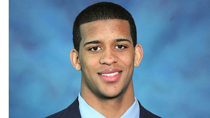 Devin Street, one of three Pitt players facing charges.