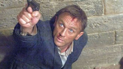 Daniel Craig has played Bond in three films, including 'Skyfall' opening Friday.