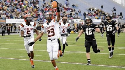 Clairton's Tyler Boyd (23) might have a chance to break the state record for touchdowns.