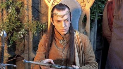 Hugo Weaving as Elrond.
