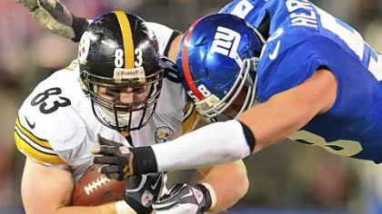After three consecutive wins, Heath Miller and the Steelers are back in the hunt for the AFC North title.