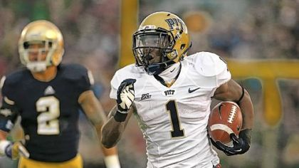 Pitt running back Ray Graham was charged with misdemeanor assault last week but was in the Panthers' lineup against Notre Dame.