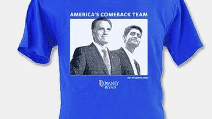 America's Comeback Team photo T-shirt, $30.
