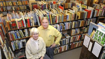 Beverly and Neil Townsend opened Townsend Booksellers in Oakland in 1990. One of the reasons they are closing is the advent of print-on-demand technology that allows companies to make new copies of books that are out of copyright.