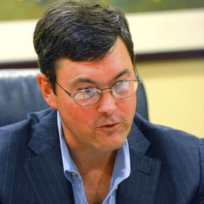 Owner Bob Nutting talks to the media at the Pirates administrative offices Tuesday.