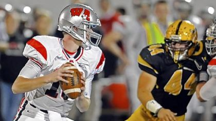 West Allegheny quartyerback Andrew Koester has passed for 680 yards in the Indians' ground-oriented offense this season.