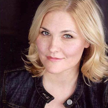 "Kelly McAndrew stars as Margie in the Pittsburgh Public Theater production of ""Good People"" at the O'Reilly Theater, Downtown."