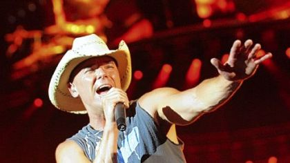 Kenny Chesney at Heinz Field, circa 2008.