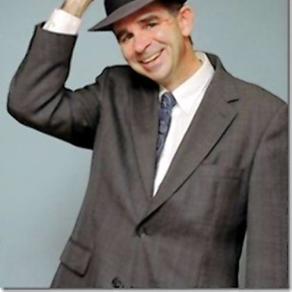 Chris Collins portrays Jimmy Stewart in a one-man show at Cabaret at Theater Square.