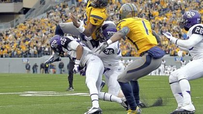 Geno Smith and West Virginia fared better against TCU last Saturday but are still a far cry from the Mountaineers that averaged 52 points per game in their first five games.